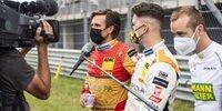 Quiz über das ADAC GT Masters mit Fahrern