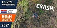 Rallye Kroatien: Frühes Aus für Rovanperä
