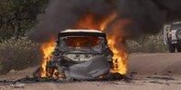 Rallye Mexiko: Lappis Auto brennt aus