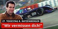 Ratzenberger: Emotionales Video zum 27. Todestag