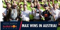 Red Bull in Spielberg: So feierte Verstappen