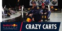 Red-Bull-Piloten machen Fabrik unsicher