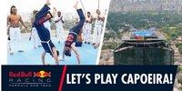 Red Bull: Verstappen und Ricciardo beim Capoeira