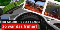 Retro: So geil waren die alten F1-Games!