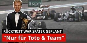 Rosberg: Rücktritt war eigentlich später geplant!