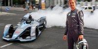 Rosberg Vlog: Mit Formel-E-Auto durch Berlin