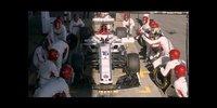 Sauber: Boxenstopp-Challenge mit den Fahrern