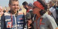 Sebastian Bühler bei der Dakar 2019