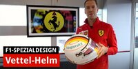 Sebastian Vettels Helmdesign-Hommage an Michael Schumacher