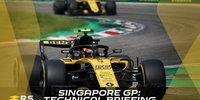 Singapur: Technisches Briefing mit Renault