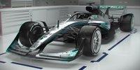 So gut ist die F1-Designstudie 2021