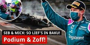 So lief Vettels unglaubliche Fahrt aufs Podium!