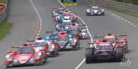 Start der 24h von Le Mans 2018