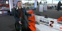Stock-Block-Motor von Mercedes beim Indy 500