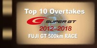 Super GT: Beste Überholmanöver aus Fuji seit 2012