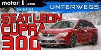 Test im Schnee: SEAT Leon ST Cupra 300 4Drive 2018