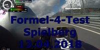 Test mit einem Formel 4 in Spielberg