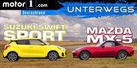 Test: Suzuki Swift Sport vs. Mazda MX-5 2018