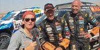 Tim und Tom Coronel bei der Dakar 2019