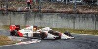 Top 10: Kollisionen unter Teamkollegen in der F1