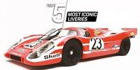 Top 5 der legendärsten Designs auf dem Porsche 917