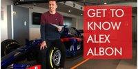 Toro Rosso: Alexander Albon stellt sich vor