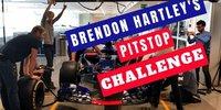 Toro Rosso: Boxenstopp-Übung mit Brendon Hartley