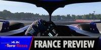 Toro Rosso in Frankreich: