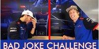 Toro Rosso spielt: Nicht lachen!