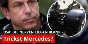 Trickst Mercedes mit der Hinterradaufhängung?