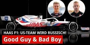 Überraschung bei Haas-Launch: Mick