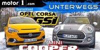 Vergleichstest: Opel Corsa GSi vs. Mini Cooper 1.5