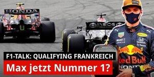 Verstappen auf Pole: Mercedes nur noch Nummer 2?
