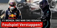 Verstappen-Hamilton-Crash: Dankbar, dass ich lebe!