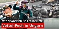 Vettel disqualifiziert, Ocon Sieger in Ungarn!