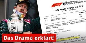 Vettel-DQ erklärt: Welche Chancen hat der Protest?