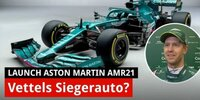 Vettels neuer Aston Martin: Analyse Launch AMR21