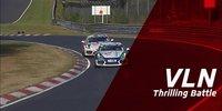 VLN8: Knallharter Porsche-Kampf bis zur Ziellinie