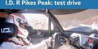 Volkswagen I.D. R Pikes Peak: Testfahrt an Berg