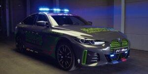 Vorstellung BMW i4 M50 Safety-Car