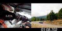 VW Pikes Peak aus verschiedenen Blickwinkel