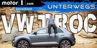 VW T-Roc 2017 Test: UNTERWEGS mit Daniel Hohmeyer