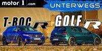 VW T-Roc R und VW Golf R im Vergleichstest