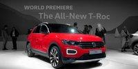 VW T-Roc Weltpremiere