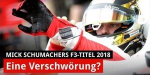 War Mick Schumachers F3-Titel eine Verschwörung?