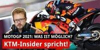 Was sich KTM von der MotoGP-Saison 2021 verspricht