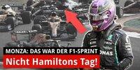 Was war da bei Hamilton los? Verstappen auf Pole!