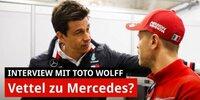 Wechselt Vettel zu Mercedes? Jetzt spricht Toto Wolff ...