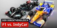 Wer ist schneller? Formel 1 und IndyCar im Vergleich