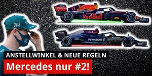 Wie die Regeln Mercedes & Aston Martin schaden - Red Bull stärkste Kraft?   F1-Technik 2021